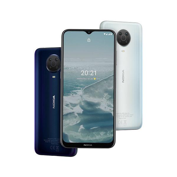 Android 11 и ёмкие батареи: стартовали продажи Nokia G20 и Nokia X20 в России новости,смартфон,статья