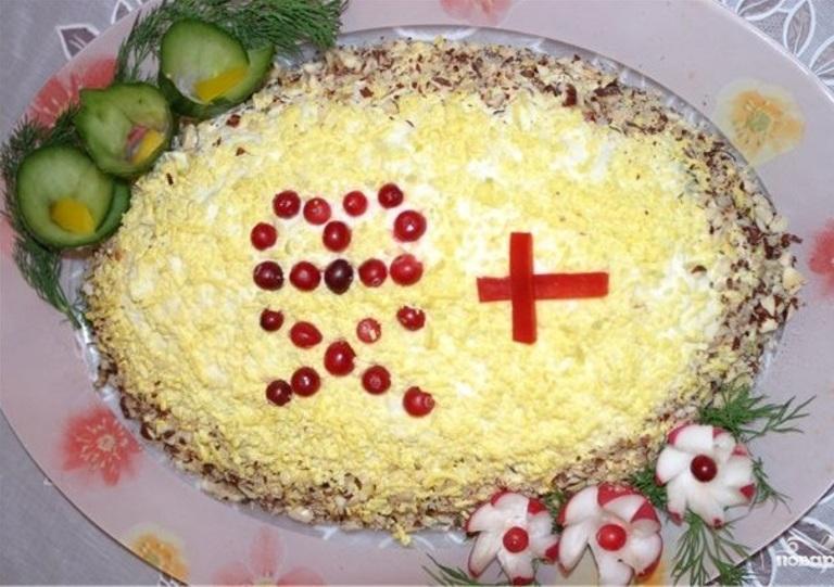Пасхальные салаты - 6 рецептов. Помадка и глазурь для куличей - 4 рецепта