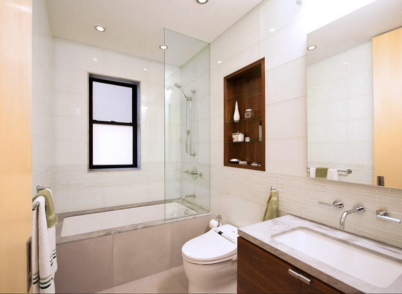 Светлые поверхности для ванной