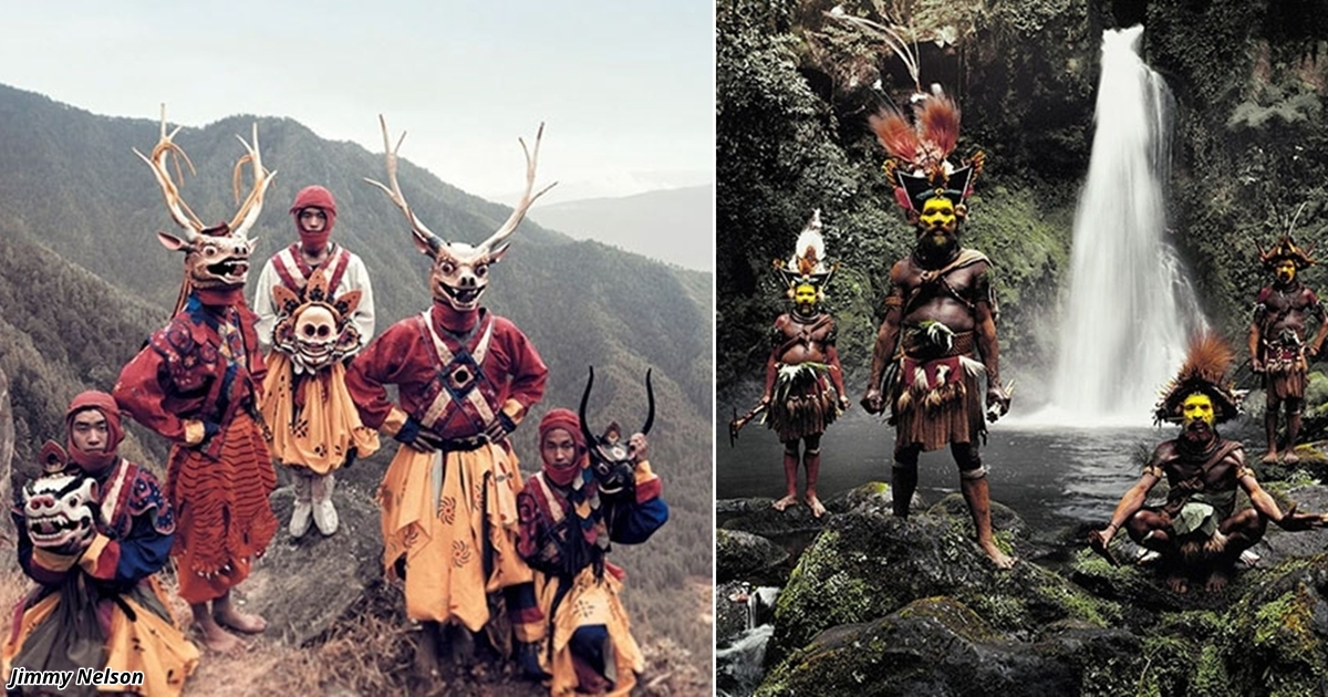 21 потрясающее фото племён, которые не знают, что такое цивилизация