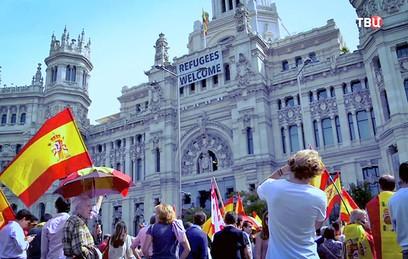 """Смотрите в 22:30 специальный репортаж """"Каталония. Есть ли выход?"""""""