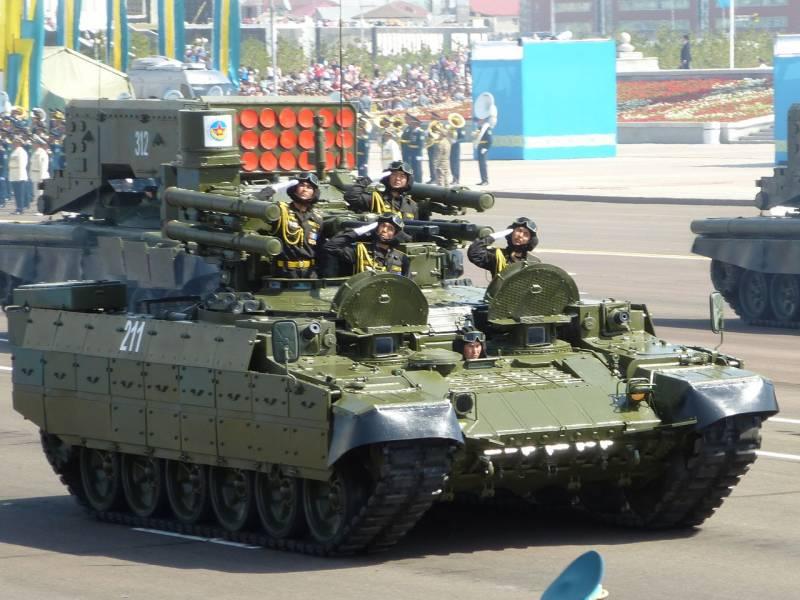 Чем вооружить боевую машину поддержки танков
