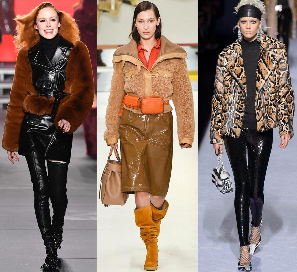 Меховые куртки и меховые жакеты 2018-2019 года