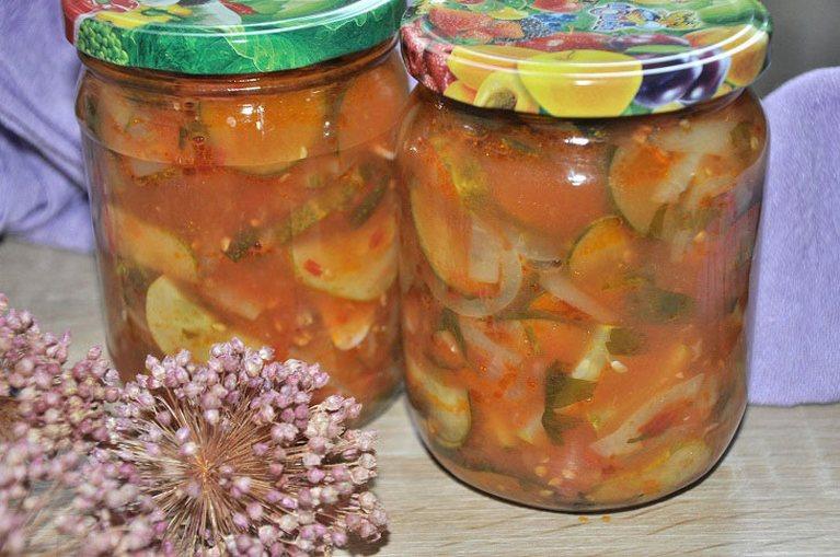 Бабушкин салат из огурцов — простая и вкусная консервация