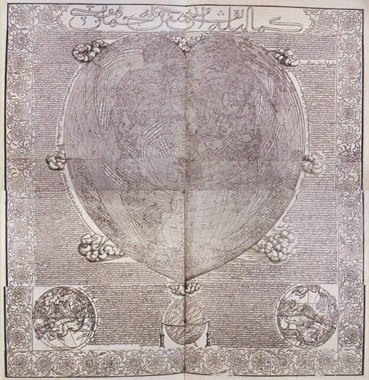Старые и подробные карты, которые ставят в тупик некоторых историков история