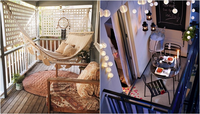33 идеи как преобразить балкон и создать там зону комфорта