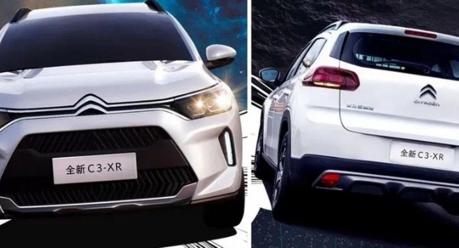 Обновленный Citroen C3-XR получил более агрессивный внешний вид Автомобили
