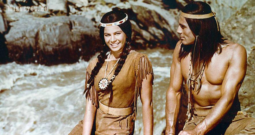 Красивые индианки из фильмов с Гойко Митичем.