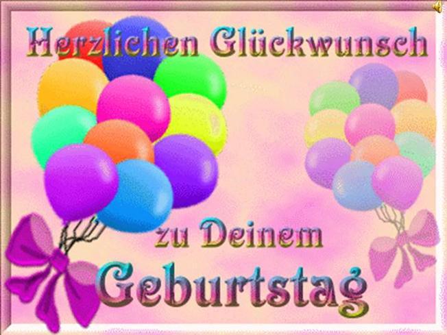 Красивые букеты, с днем рождения по-немецки открытка