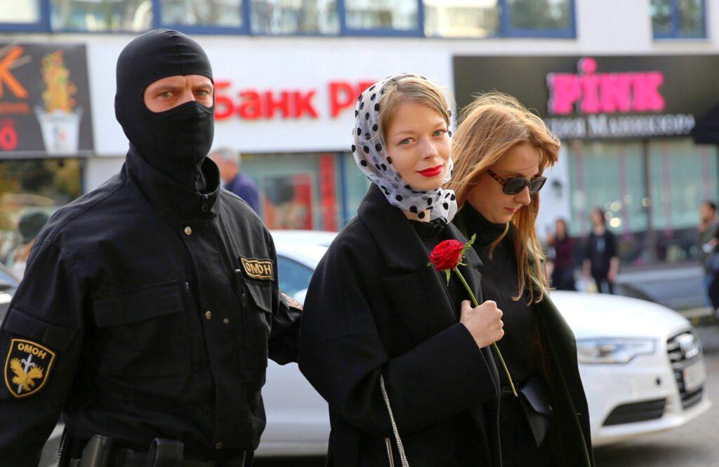 Минчанка поделилась впечатлением от участия в митингах против Лукашенко