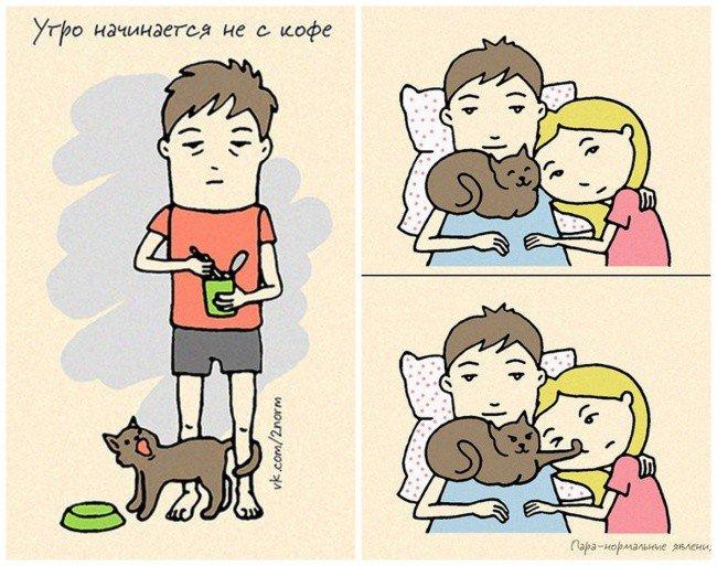 Смешные картинки совместная жизнь