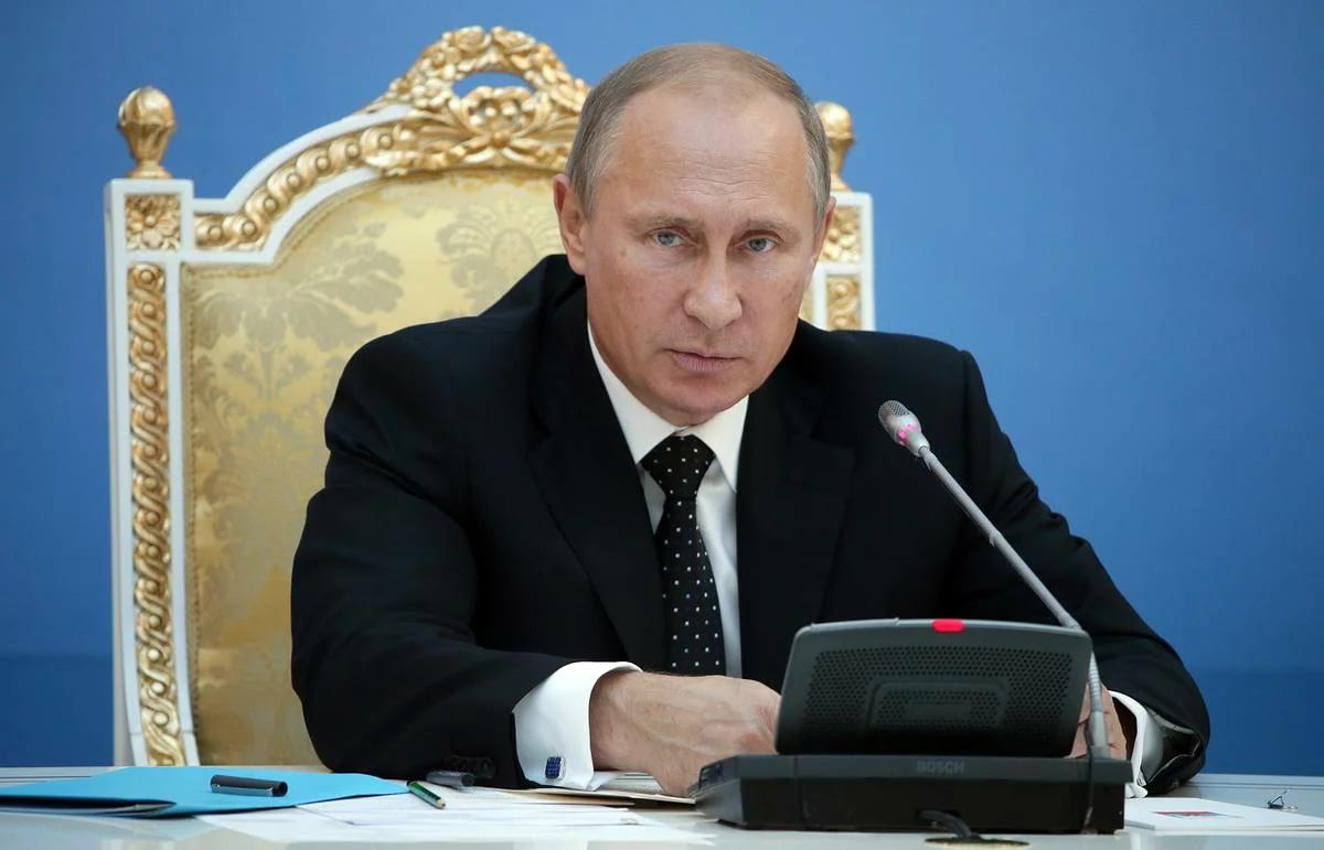 Владимир Путин, президент Российской Федерации. Источник изображения: https://vk.com/denis_siniy