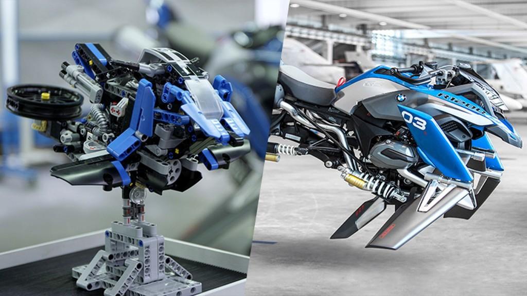 Уже скоро мотоциклы BMW лишатся колес и будут летать
