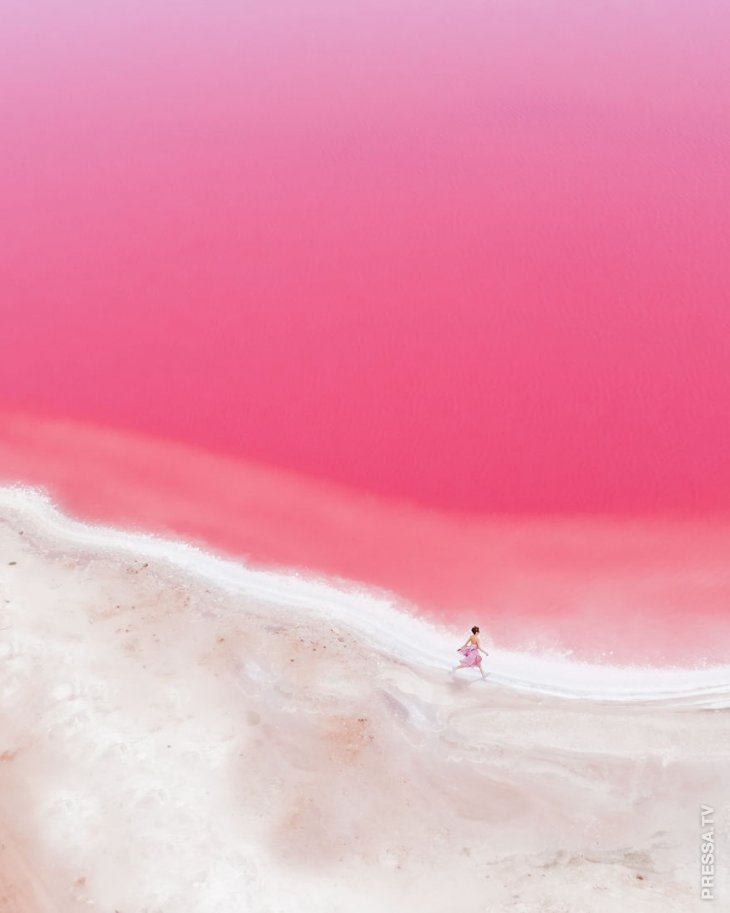 Сказочная Розовая лагуна в р…