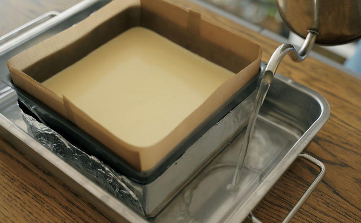 водяная баня для пирога