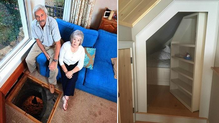 15 занимательных находок, которые новые владельцы обнаружили в своих домах интерьер и дизайн,клад,находки,новый дом,разное,юмор