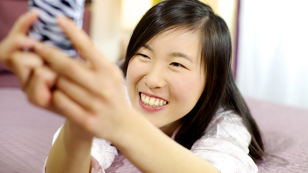 iPhone X перепутал китаянок