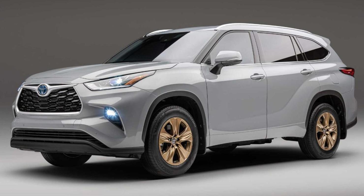 Кроссовер Toyota Highlander 2022 года получил эффектную спецверсию Bronze Edition Автомобили