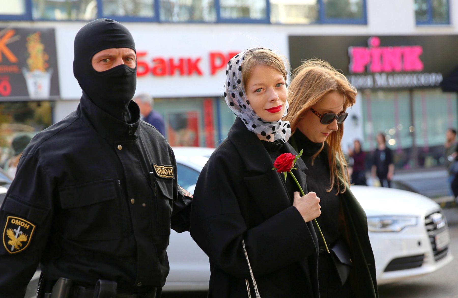 Минчанка поделилась впечатлением от участия в митингах против Лукашенко Александр Лукашенко,Беларусь,Митинги,Мнения,Иностранцы