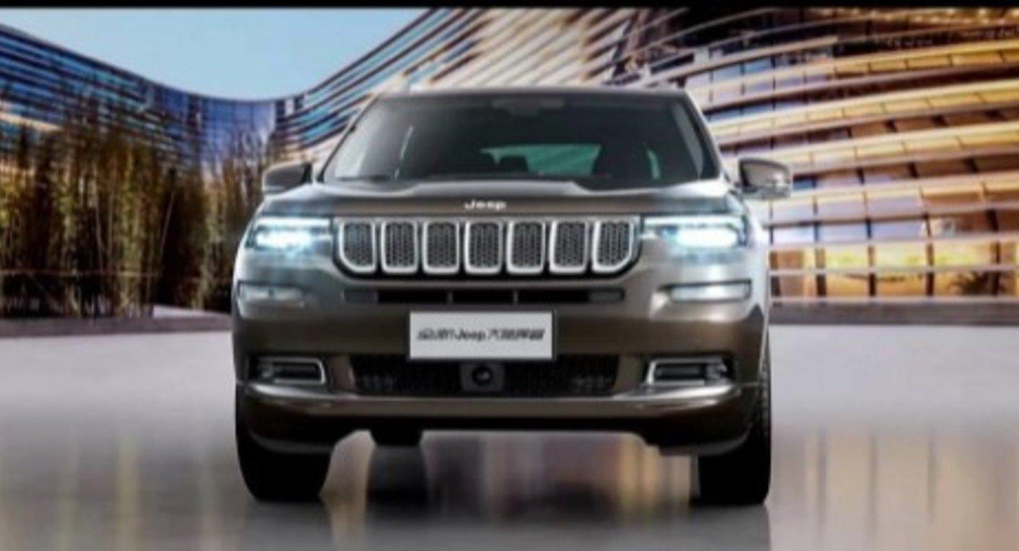 Автобренд Jeep подтвердил имя для нового 7-местного внедорожника Commander 2022 года Автомобили
