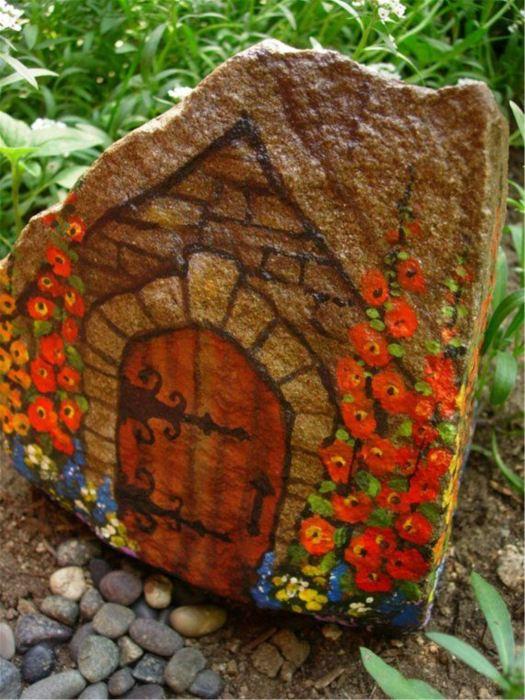 Большой грубый камень можно сделать настоящим произведением искусства.
