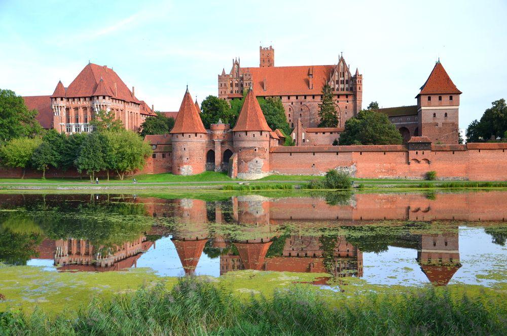 Замок Мальборк: кирпичное чудо
