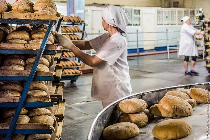Экскурсия на Ульяновский хлебозавод