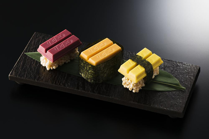 Kit Kat представил шоколадные суши