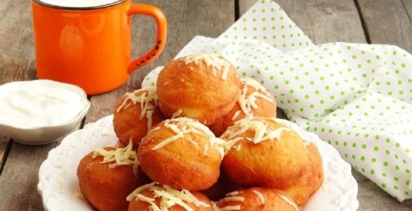Картофельные пончики с ветчиной: это очень вкусно!
