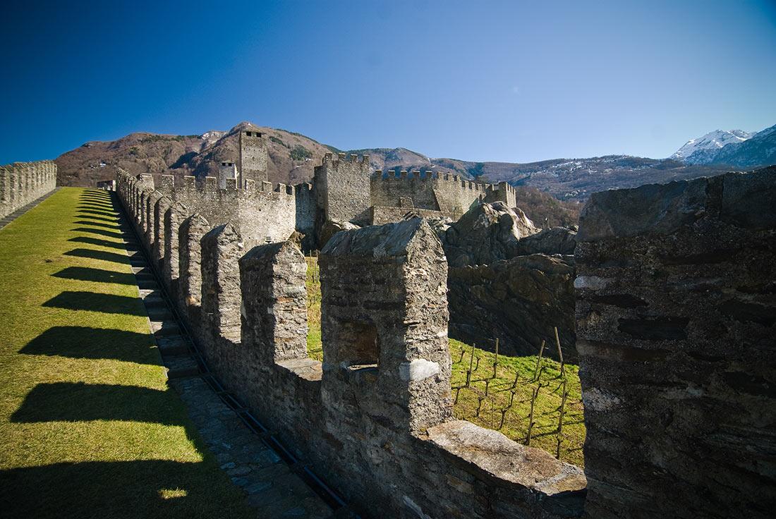 Беллинцона: старинный швейцарский город трех зáмков авиатур