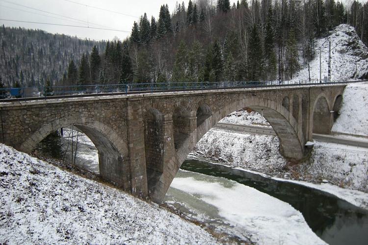 Живительная влага: самые красивые виадуки России виадуки,мосты,Россия