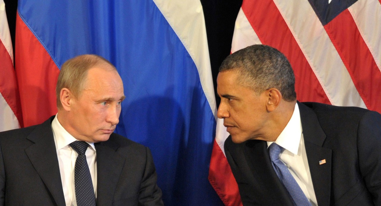 Путин и Обама провели кратку…