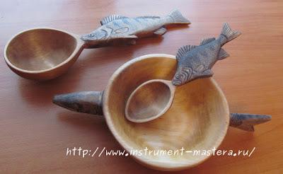 Декоративная тарелка для рыбацкой ухи