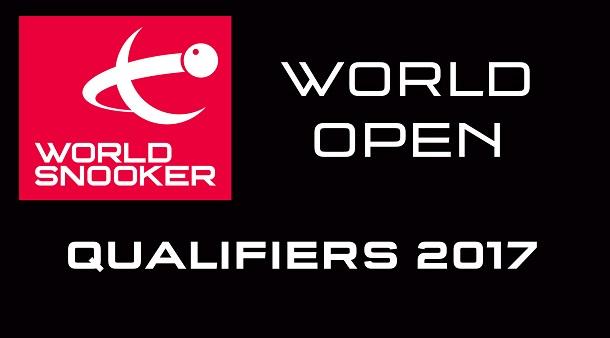 Квалификация World Open 2017