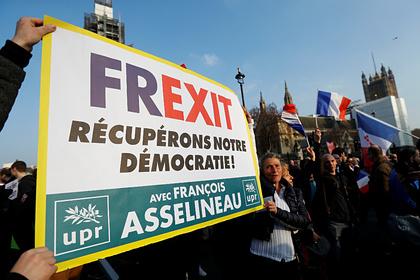 Европе предрекли Frexit Мир