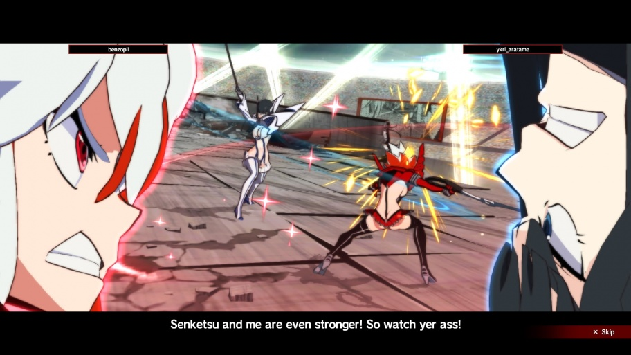 Kill la Kill the Game: IF обзор игры