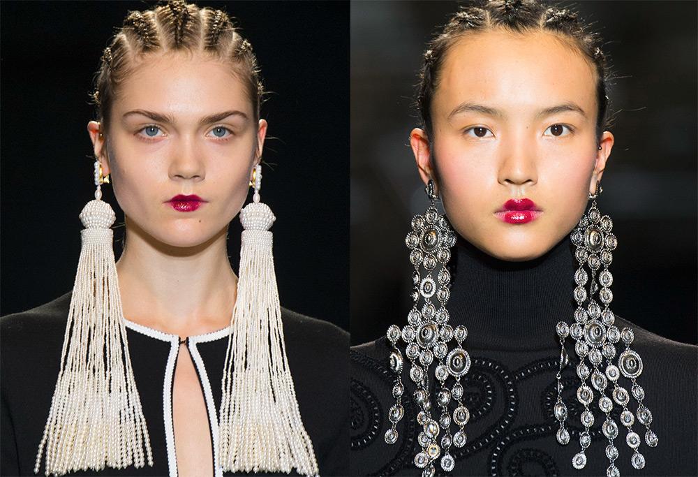 Как выбрать серьги по типу лица