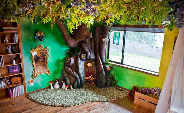 Сказочный домик для дочери
