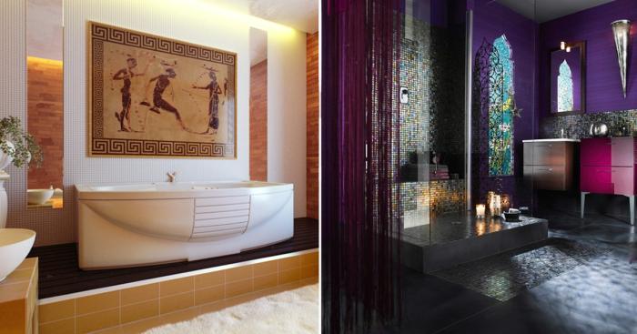 Особенности интерьера ванных…