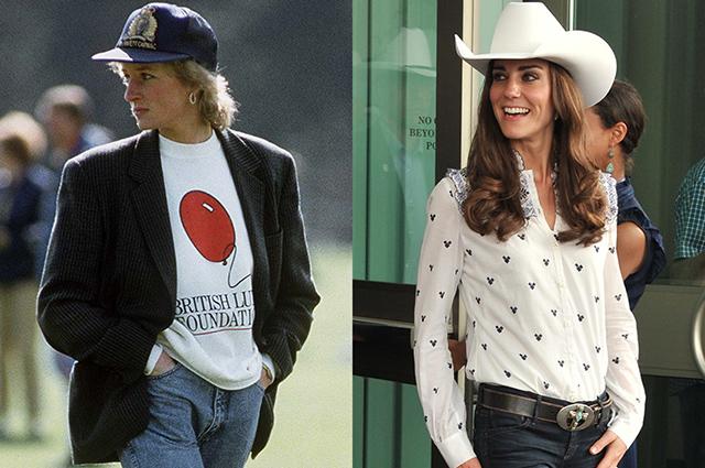Не платьем единым: Кейт Миддлтон, принцесса Диана, Грейс Келли и другие монаршие особы, которые носили и носят джинсы