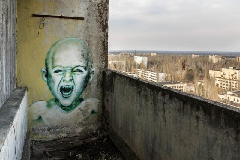 А это уже дань новому времени Чернобыль, чернобыльская катастрофа