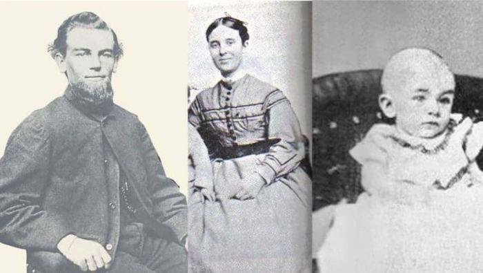 Бенджамин Бриггс и его семья