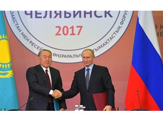 Путин и Назарбаев задвигают в геополитике Алиева в угол