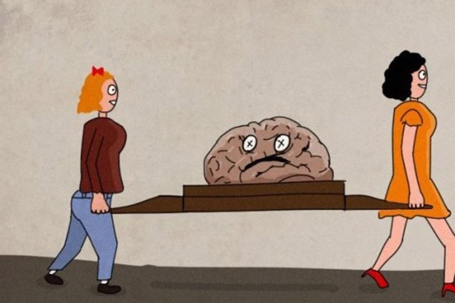 Как мужчины выносят мозг