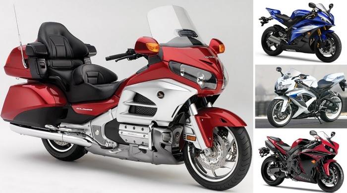 10 мотоциклов, которые признаны самыми популярными у российских байкеров