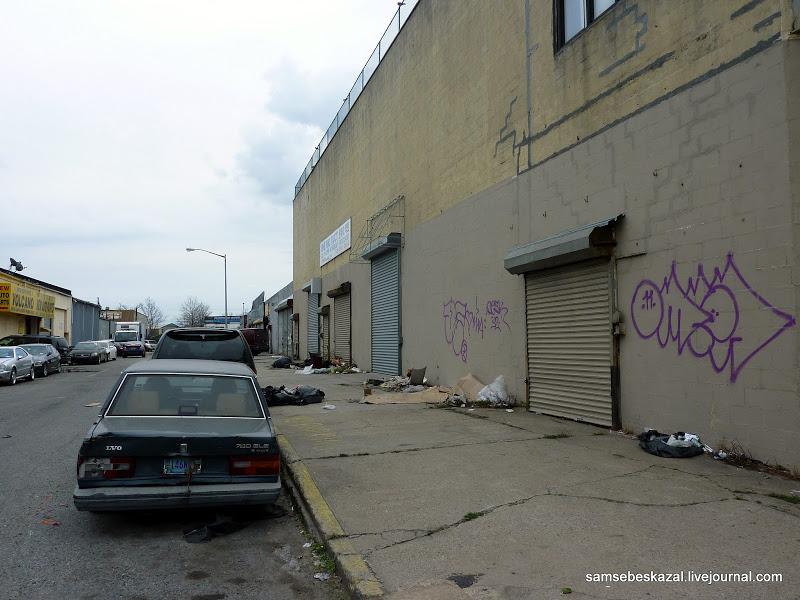 """""""Железный треугольник"""" Нью Йорка. Место не для слабонервных путешествия,США,фоторепортаж"""