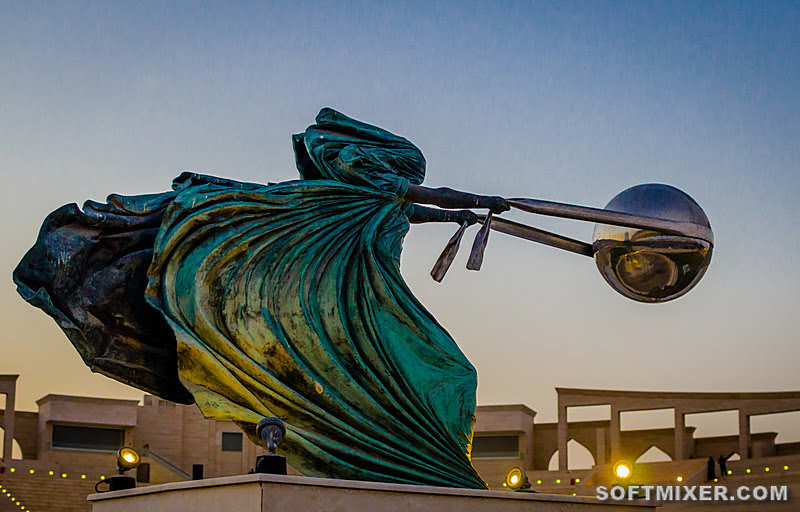 Скульптуры презревшие закон тяготения интересное,искусство,мир,скульптура