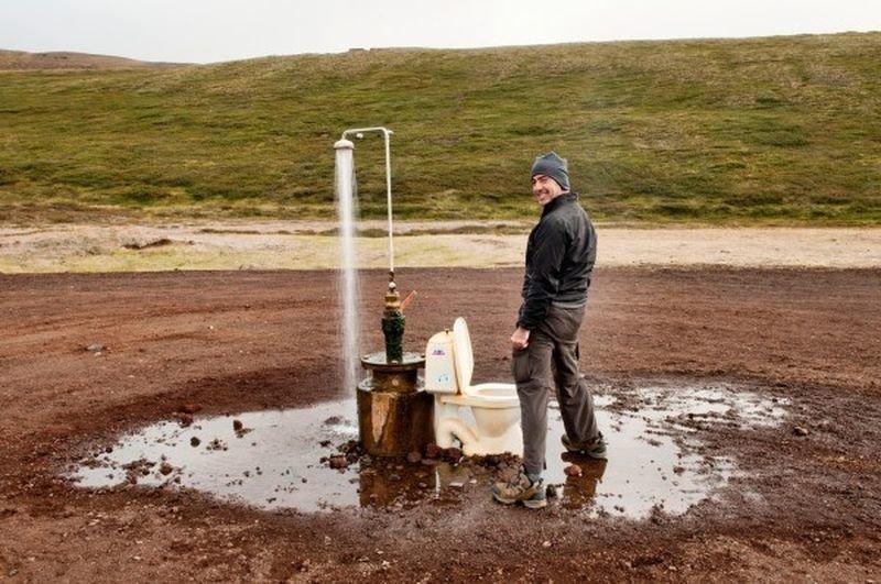 Вот как выглядит самый одинокий санузел в мире