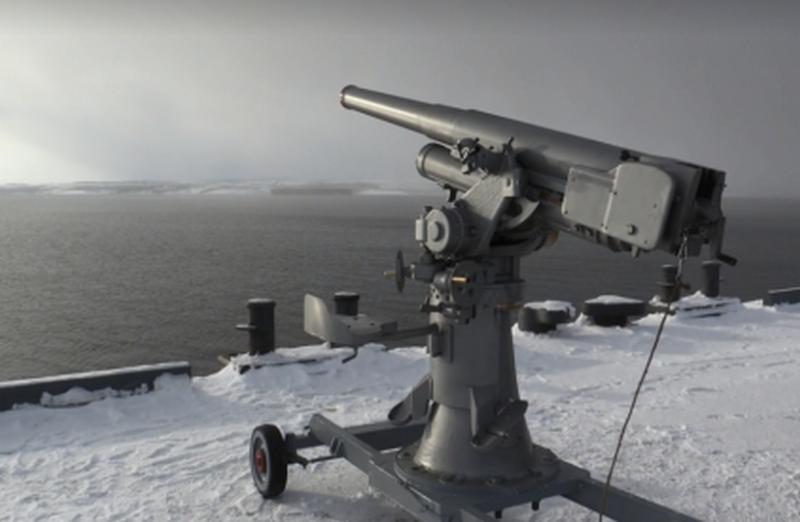 На Северном флоте успешно испытали российскую зенитку 1927 года выпуска