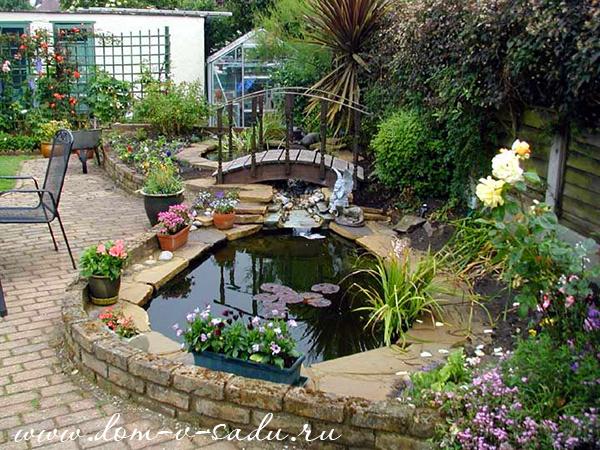 Создаем дизайн двора частного дома и двора